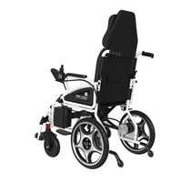 DLY-801 High Back No Lying Double Shock Absorption Electric Wheelchair