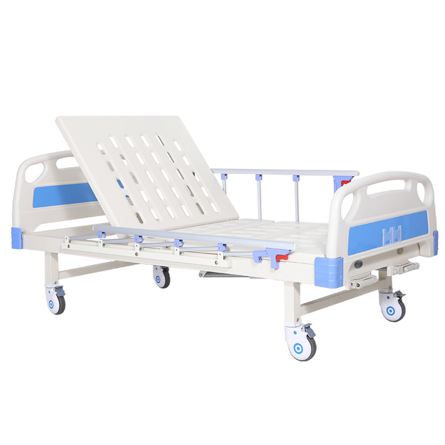 MD-BS2-003 Steel Frame 2 Cranks Manual Hospital Bed Hand Control